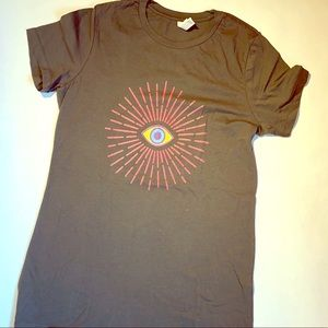 Colorful eye of wisdom new Threadless fitted tee